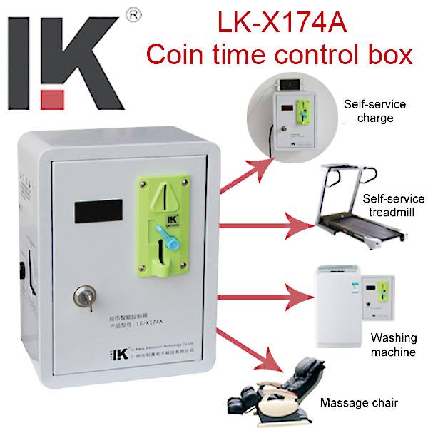 coin-operated time control box