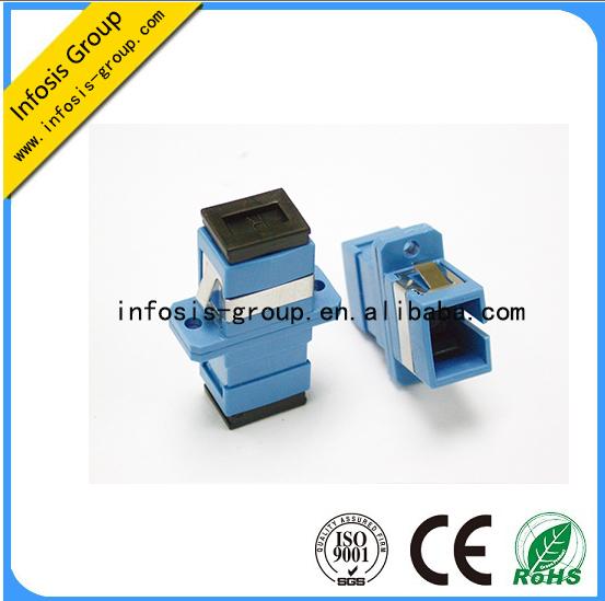 sc/pc/apc sm sx fiber optical adapter in shenzhen china