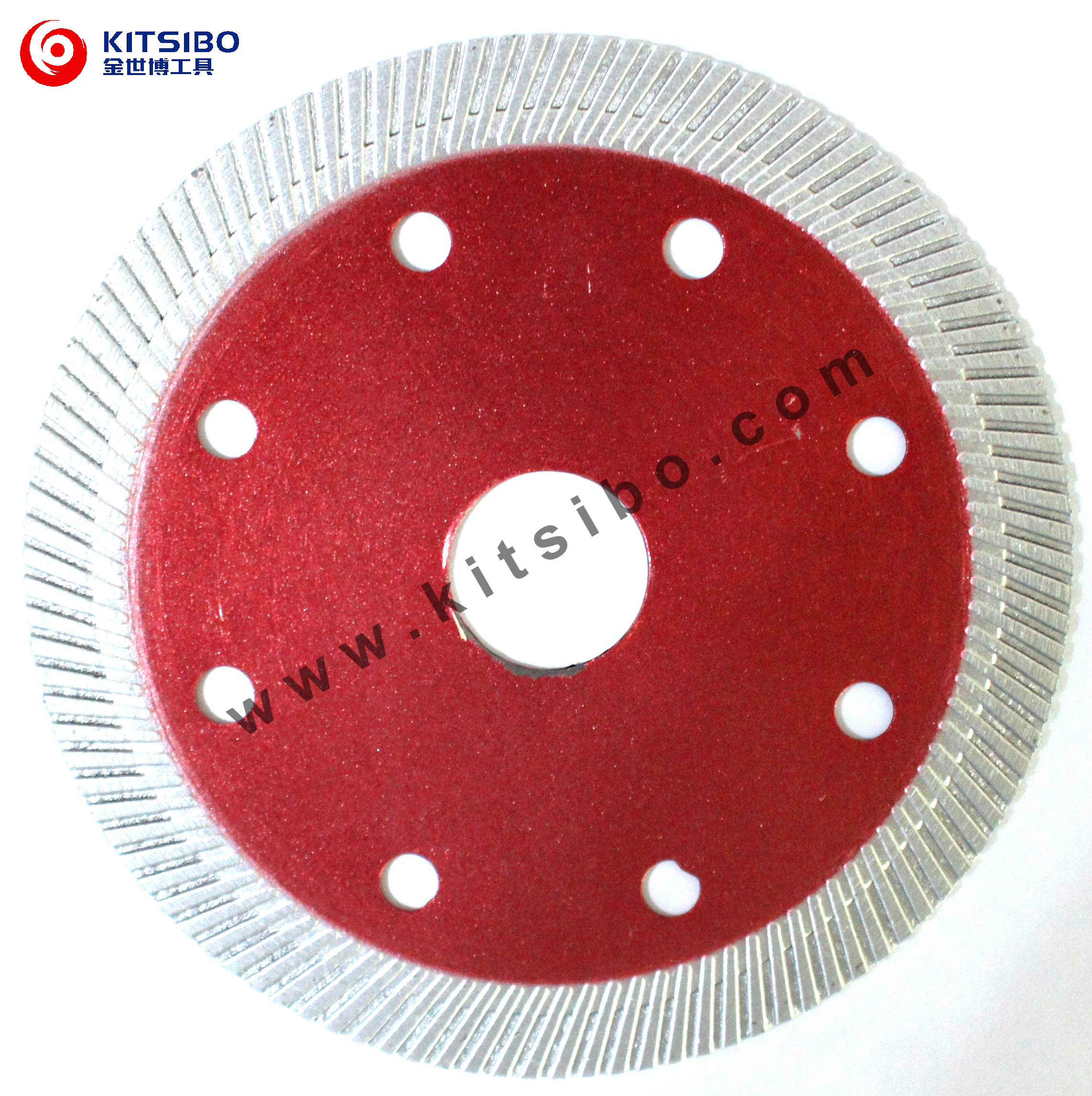 Diamond saw blade for ceramic and granite tiles