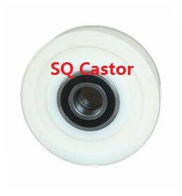 Cast polyamide wheel
