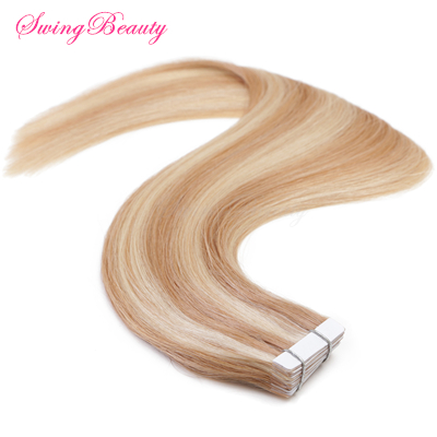 Hot Selling Mini Tape on Natural Human Hair Extension