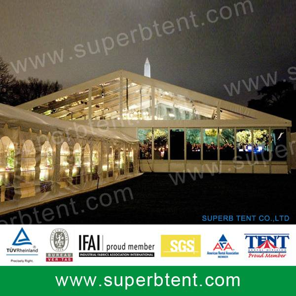 000 square meters outdoor big wedding tent with decoration