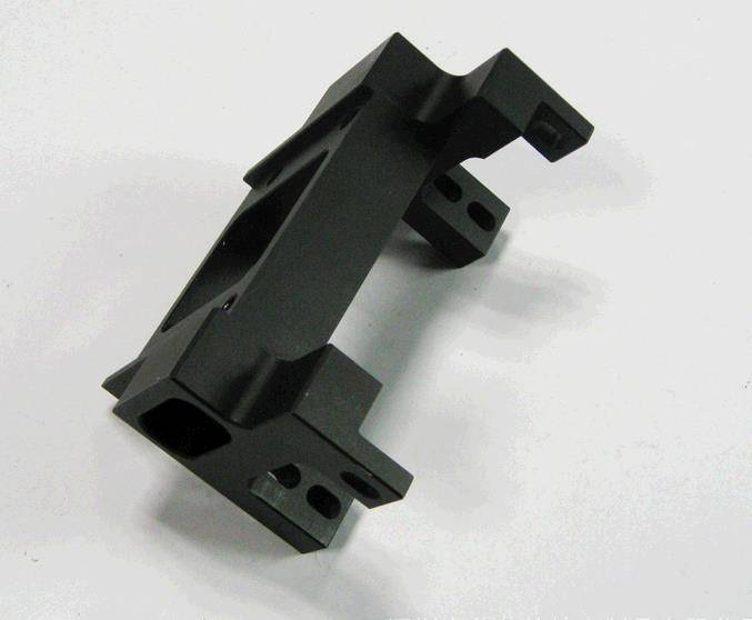 Custom aluminum precision cnc machined milling mechanical part