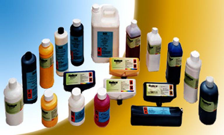 industrial inkjet fluids