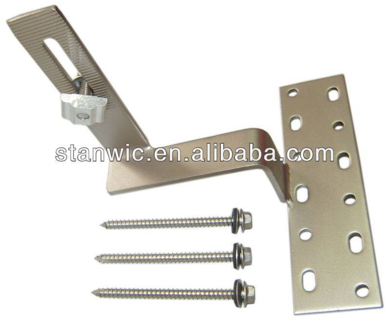 stainless steel hook for solar mounting