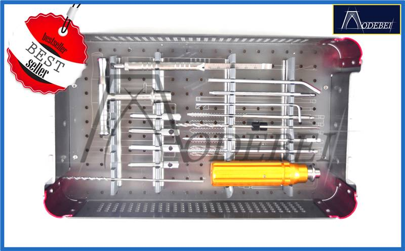 Small Locking Plate Instrument Set(Upper Limbs),Kit,Orthopedic Instrument,Surgical instrument,Trauma