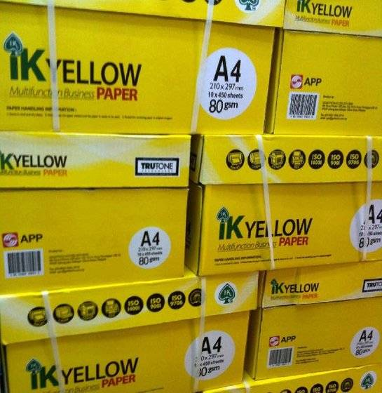 IK Yellow Copier Paper