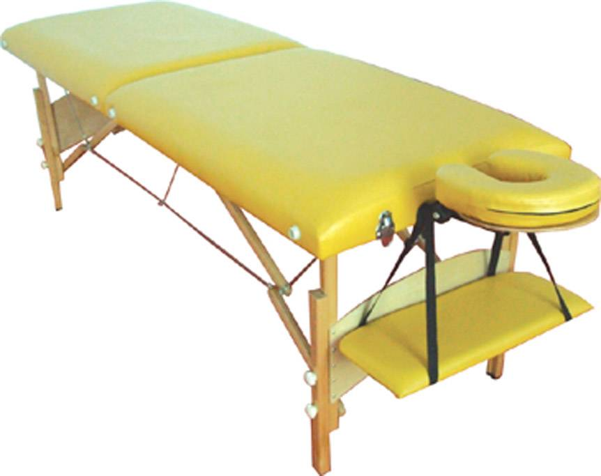 Beautiful wooden massage table MT-006S