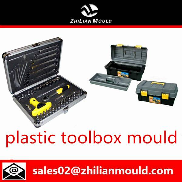 Taizhou custom plastic tool box mould with high quality