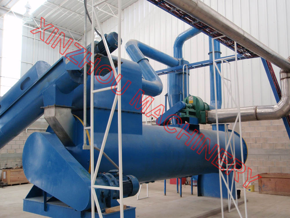 Air cooling/water cooling fishmeal cooler