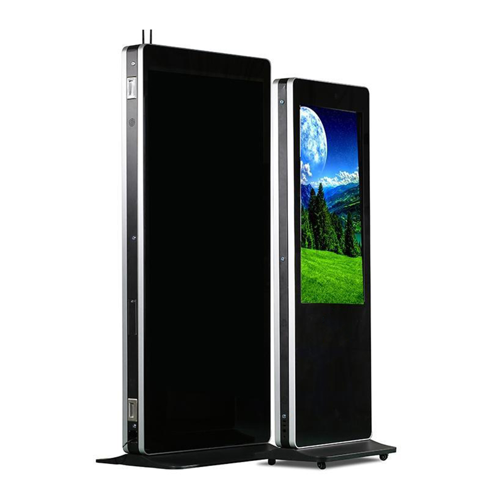 55'' 1080p FULL HD low power dissipation LCD advisement player, advertising player