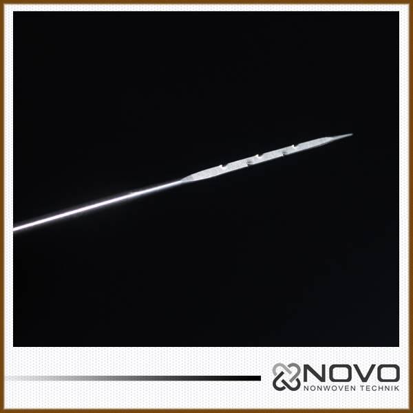 NOVO brand nonwoven triangular needle 15X17X38X3.5M333T