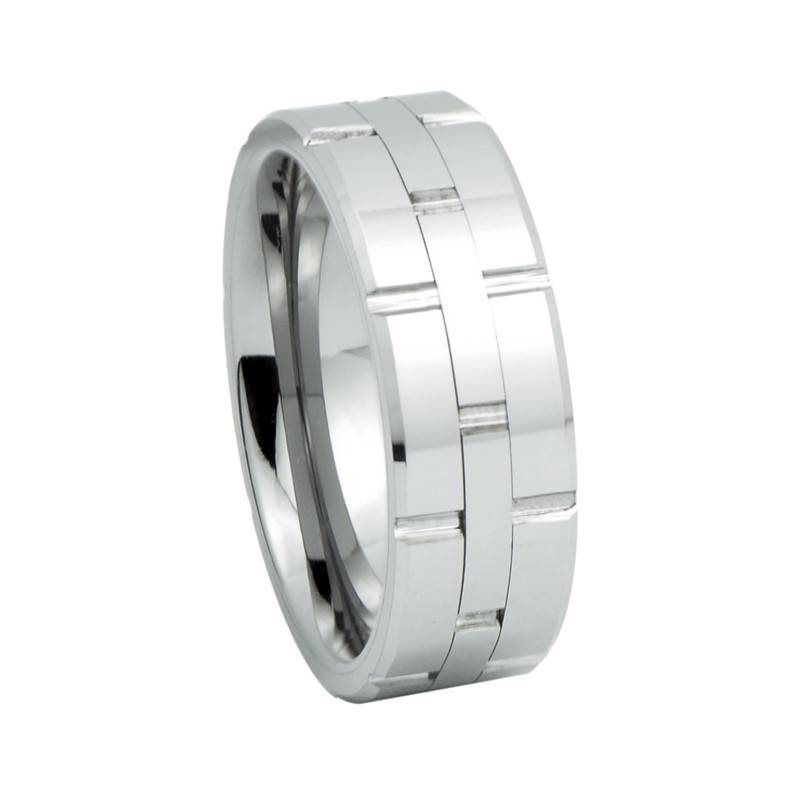 Fashion Tungsten Carbide Rings Spinner Ring