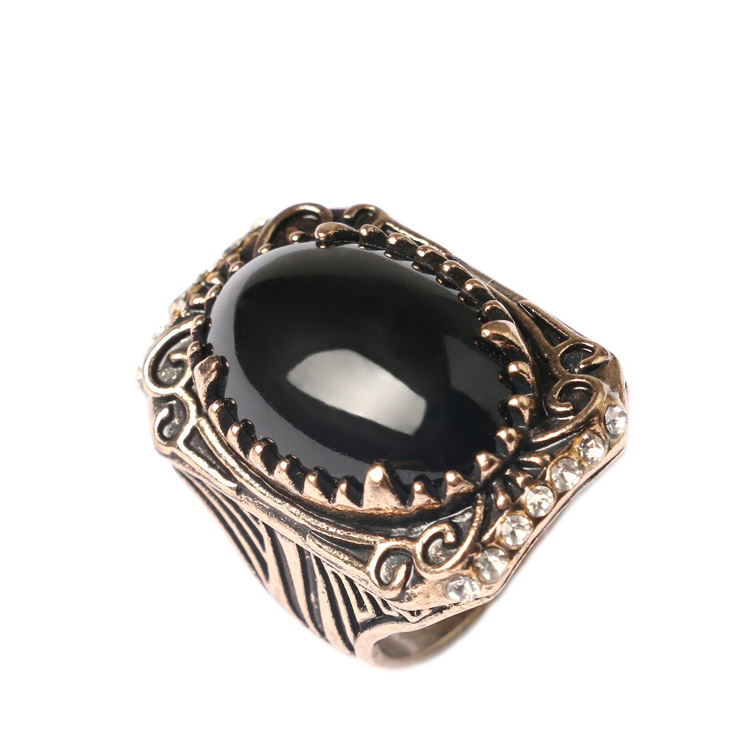 Men ring exquisite pattern carving