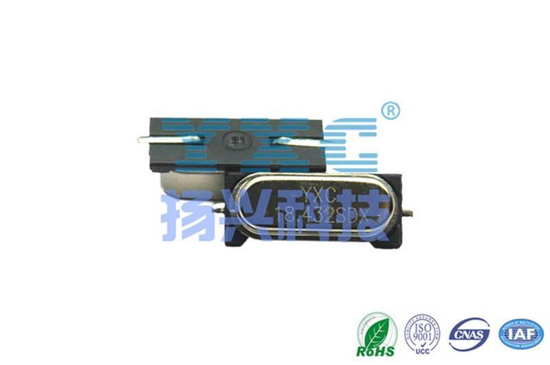 18.432mhz 49S HC-49SMD SMD Quartz Crystal Resonator 20PF 20PPM 2P smd 18.432m crystal 18.432 mhz hc-