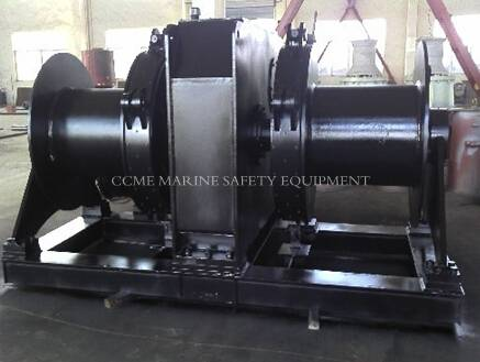 Marine Hydraulic Single Warping Head Anchor Windlass
