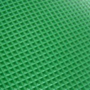 green pvc belt diamond pattern