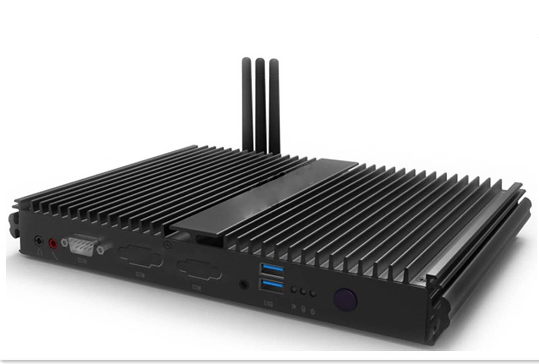 Fanless mini PC with Intel 5th Generation Core™ i3/i5 CPU Industry Control computer PCF301