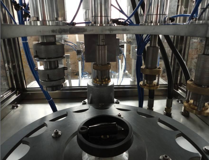 automatic butane gas filling machine