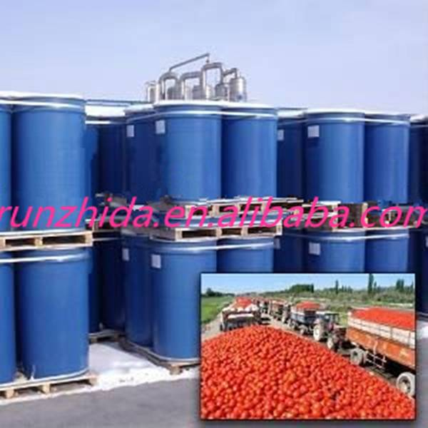 importing tomato paste in drum with 36-38% tomato concentrate