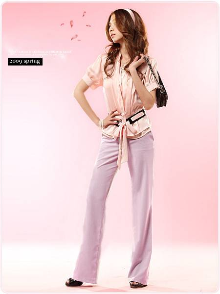 Fashion Simple Leisure Cotton Trousers