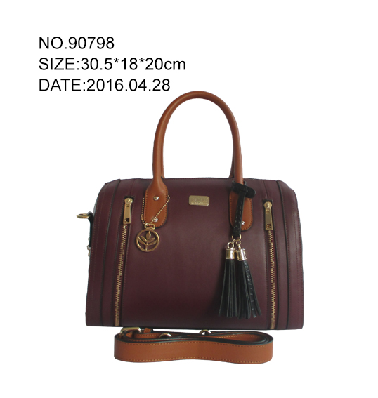 nice new design Genuine leather handbag from china original factory