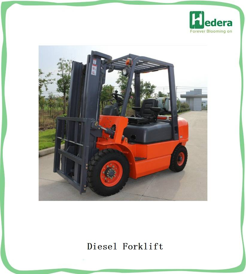 Excellent Quality  Full Hydraulic Forklift