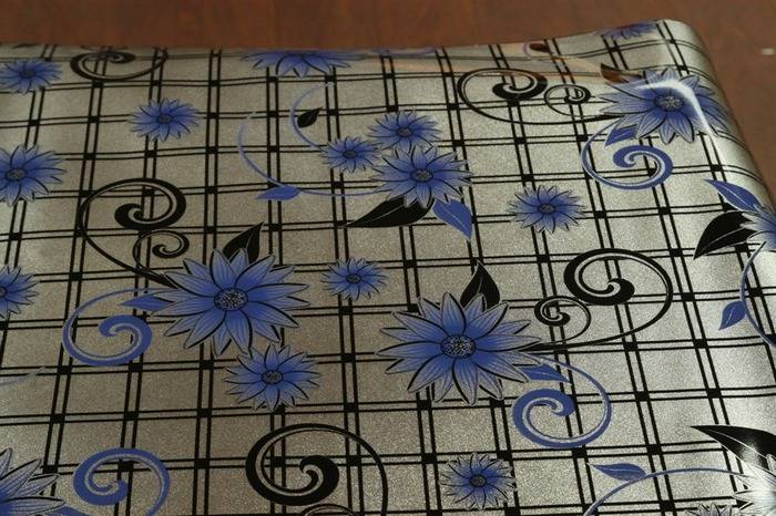 home stuff cover plastic PVC Metal Printed Tablecloth