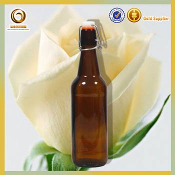 500ml beer mini glass bottles  with swing top manufactures
