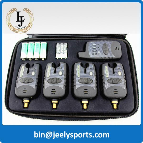4+1 Wireless Carp Fishing Bite Alarm Set