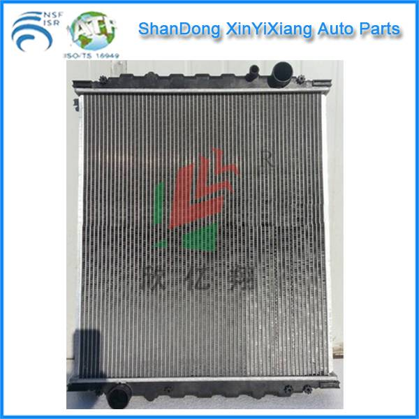 Aluminium auto radiator for MAN L 2000 OEM 81061016446