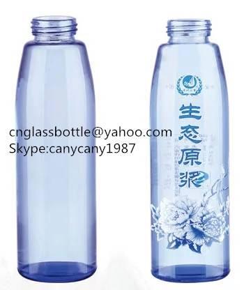 500ml blue beverage juice bottle