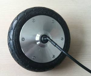 8 inch BLDC motor brushless gearless electric scooter hub motor