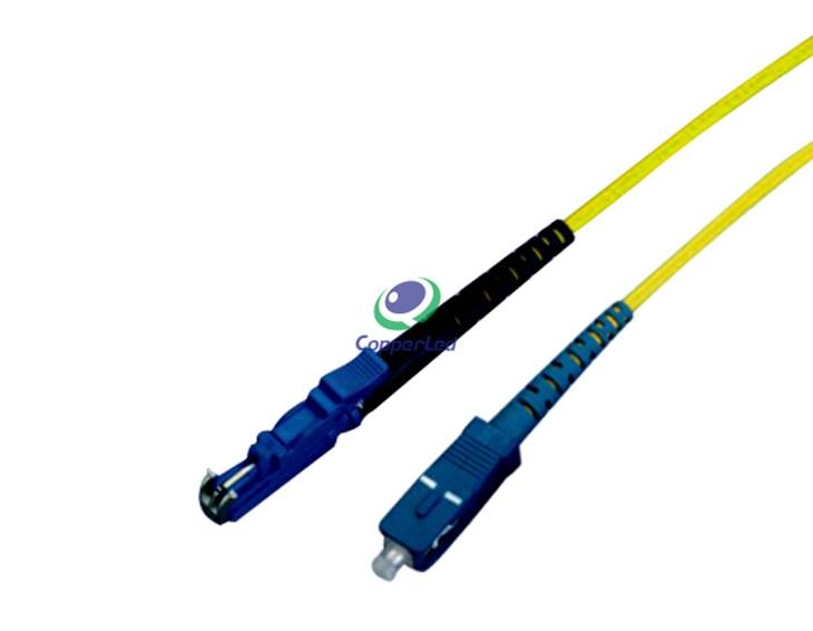 Singlemode Simplex SC/PC-E2000/PC Fiber Optic Patch Cord