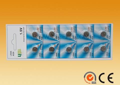 1.5V Alkaline manganese dioxide button cell LR936 50mah