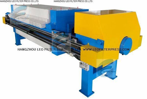 Leo Filter Press Automatic Hydraulic Slurry Filter Press