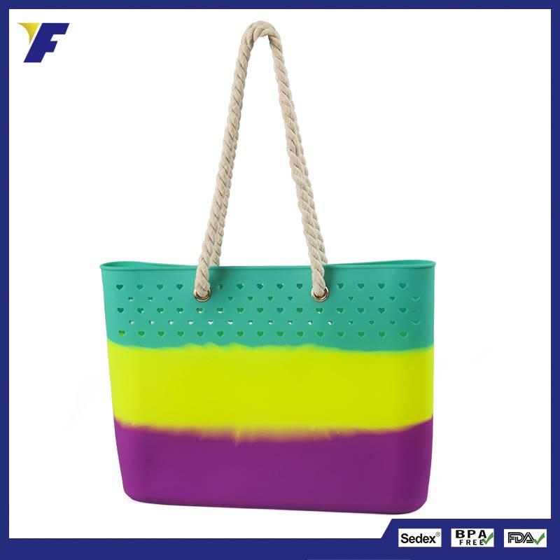 Fashion Design Lady And Women Shoulder Bag Cheap Shpping Bag Silicone Bags Handbag