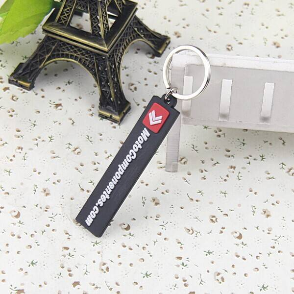Factory Supply PVC Promotional Keychain