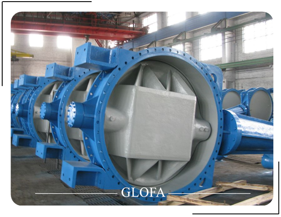 Awwa C504 A536 Nbr Rubber Seated D.I Butterfly Valve
