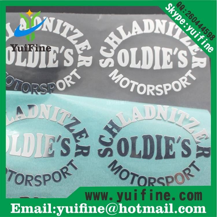 Electroformed Thin Metal label/Logo Name Plate Adhesive nickel sticker nameplate logo sticker