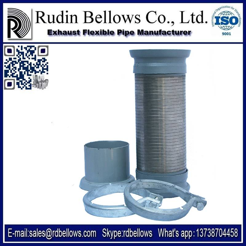 Rudin Exhaust Flexible pipe for mercedes , exhaust bellows,interlock metal hoses