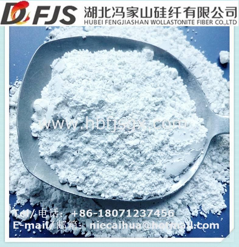 wholesale metallurgy industry iron or steel slag application Wollastonite powder