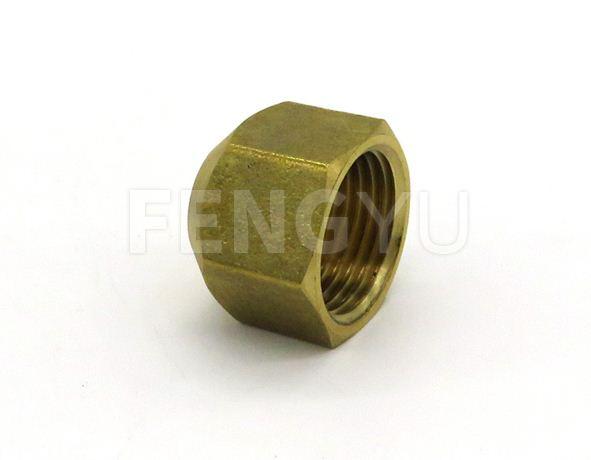 Brass flare cap F130X (free lead brass)