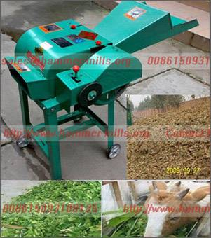 Mini ensiling chaff grass cutter,straw/grass chopper AWF002