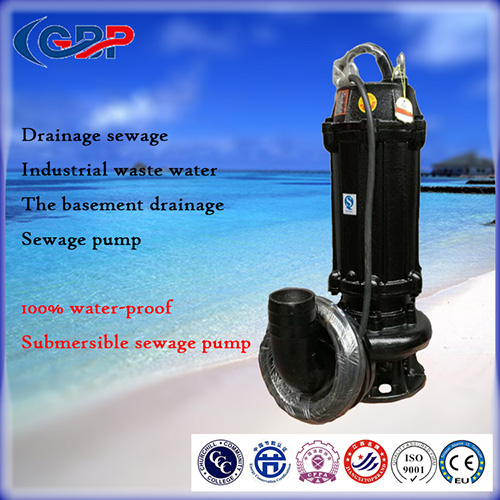 WQ Series Submersible Sewage Pump 150WQ100-25-11