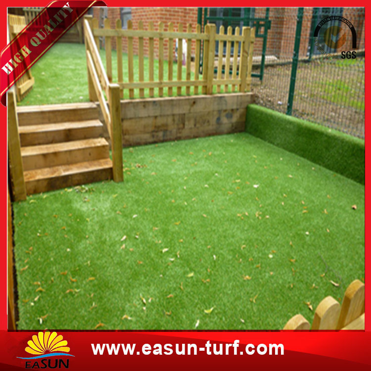 Wholesale landscaping synthetic lawn decorative artificial grass for garden-Donut