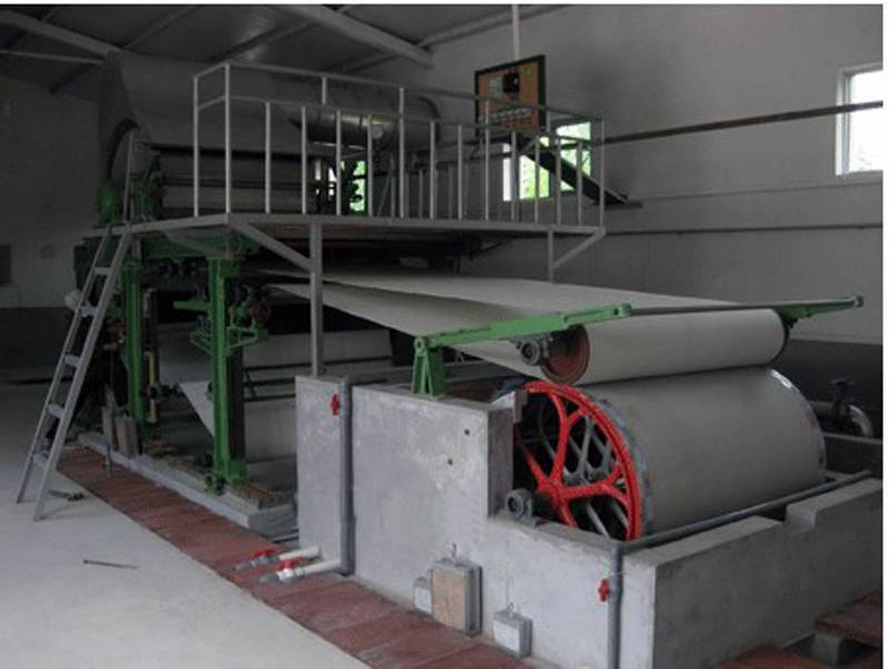 Small type paper making machine