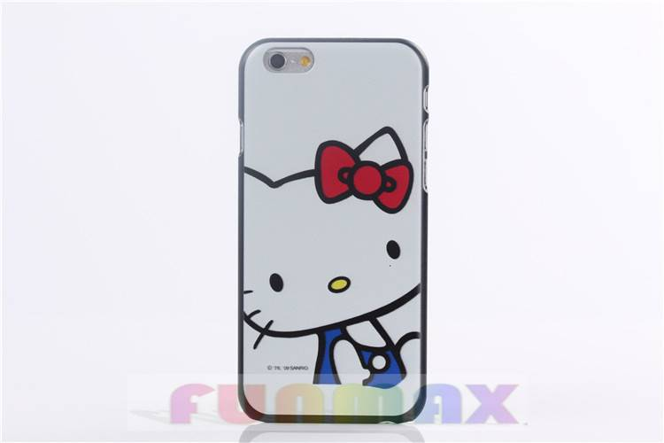 "Cartoon Character Cute Cat Design Frosted Protective Case Cover Skin Shell for iPhone 6 (4.7"")"