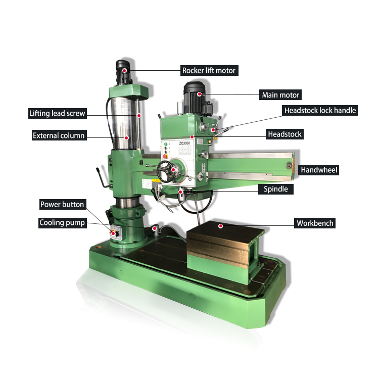 Time Limit Promotion Table Radial Drilling Machine Drilling Machine For Metal