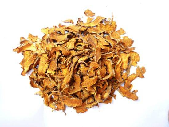 Dried Slices Turmeric